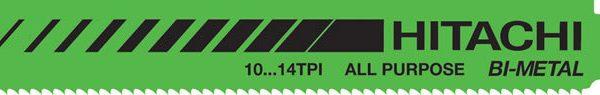 BTE 5 LAMES SCIE SABRE BOIS + METAL L130 10-14 BIM HITACHI