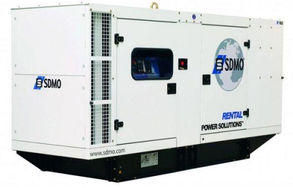 GROUPE ELECTROGENE INSONORISE SDMO 220 KVA